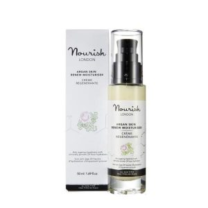 Nourish London ARGAN SKIN RENEW MOISTURISER