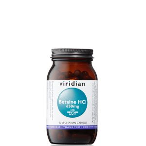 Viridian Betaine HCI with Gentian