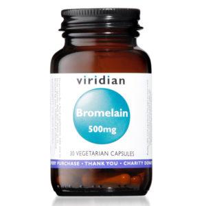 Viridian Bromelain 500mg
