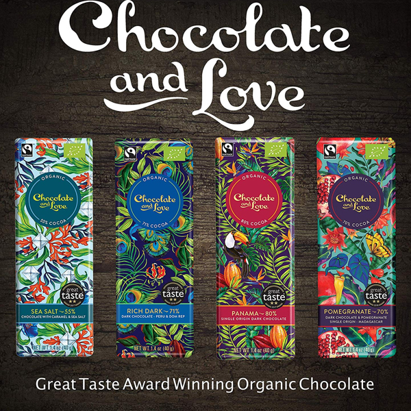 Chocolate And Love Panama Gift Box