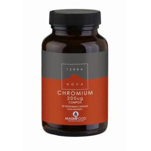 Terranova Chromium 200ug complex