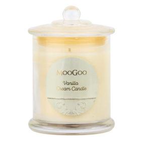 MooGoo Vanilla Cream Candle
