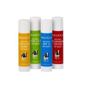 MooGoo Edible Lip Balms