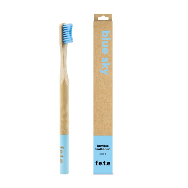 Adult's Soft Bamboo Toothbrush