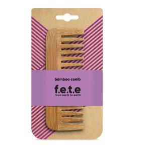 f.e.t.e bamboo comb