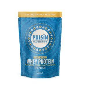 Pulsin Natural Vanilla Whey Protein