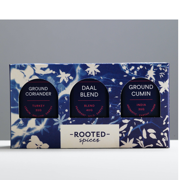 Rooted Spices Essentials Trio
