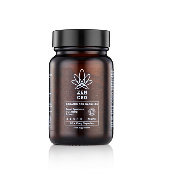 Zen CBD Organic CBD Capsules
